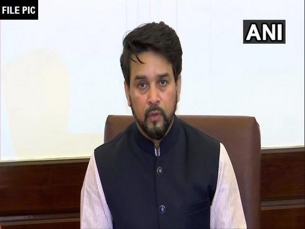 Minister of State in the Finance Ministry, Anurag Thakur