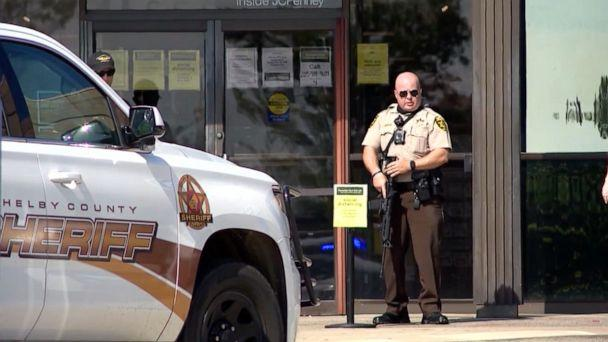 Boy, eight, killed in Alabama shopping centre shooting