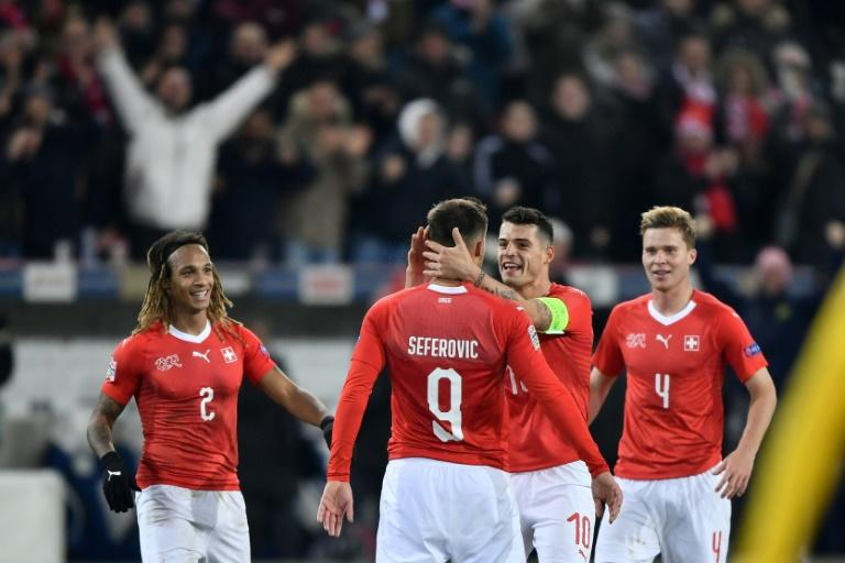 Switzerland launched a thrilling fightback to stun Belgium