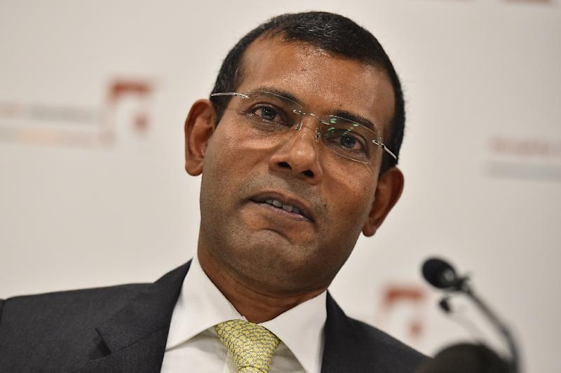 Former Maldives president Mohamed Nasheed was sentenced to prison in March 2015