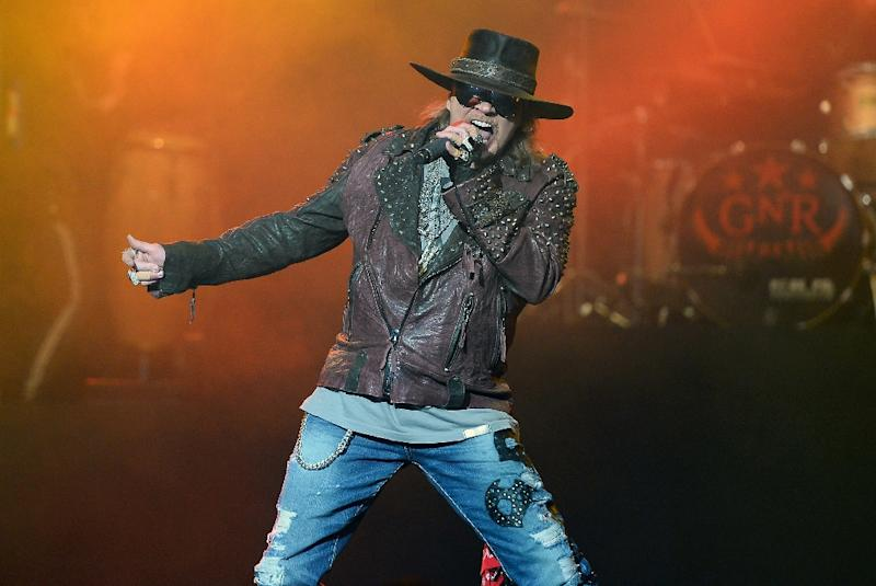 Axl Rose joins Australian rock band AC/DC as their new singer (AFP Photo/Ethan Miller)