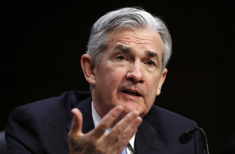 Senate panel approves Jerome Powell as Fed chairman