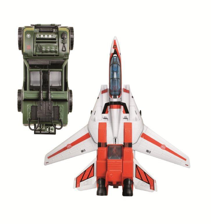<b>2013 SDCC Exclusive G.I. Joe Transformers Vehicles: Autobot Hound & Jetfire</b><br />Hasbro
