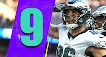 <p>The Eagles got a nice win Sunday against the Jaguars and they're clearly right in the NFC East race, particularly after Tuesday's trade. (Zach Ertz) </p>
