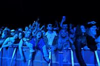 Thousands danced without face masks in UK's first post-lockdown gig in Liverpool