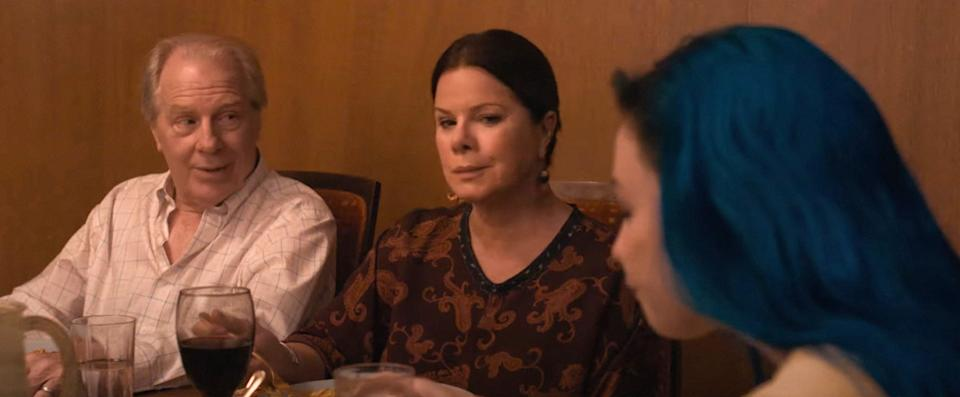 Michael McKean, Marcia Gay Harden and Barden in 'Pink Skies Ahead' (Photo: MTV/Courtesy Everett Collection)