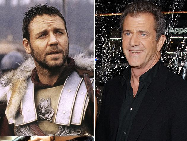 "That ""Gladiator"" Oscar could have gone to Mel Gibson instead of Russell Crowe."
