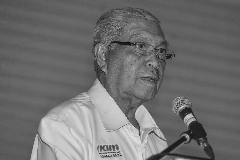 Tun Ahmad Sarji Abdul Hamid leaves behind a wife and five children. — File picture by Miera Zulyana