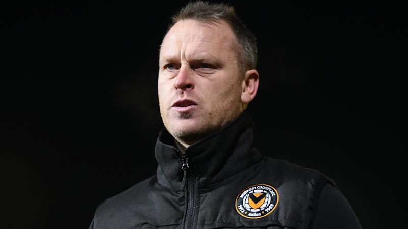 Newport boss Michael Flynn hoping for Newcastle tie in Carabao Cup fourth round