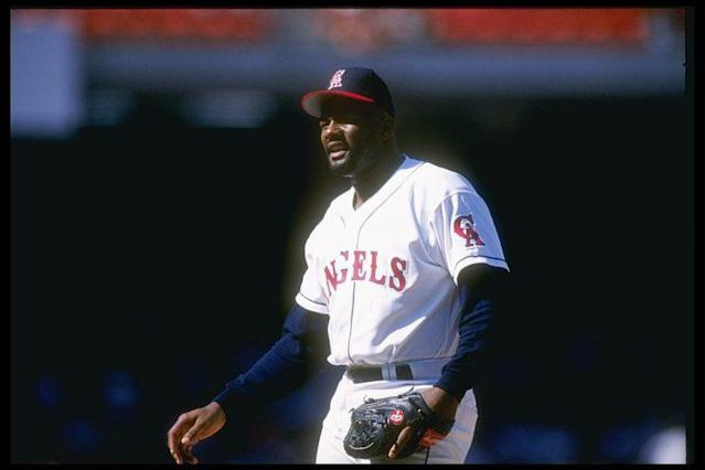 Lee Smith was the all-time saves leader from 1993 until 2006. (Stephen Dunn/Allsport)
