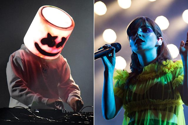 Hear Marshmello Recruit Chvrches for New Song 'Here With Me'