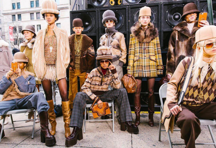 <i>Marc Jacobs' AW17 show was one of the most diverse in New York. But how did London fare? [Photo: Instagram/voguemagazine]</i>