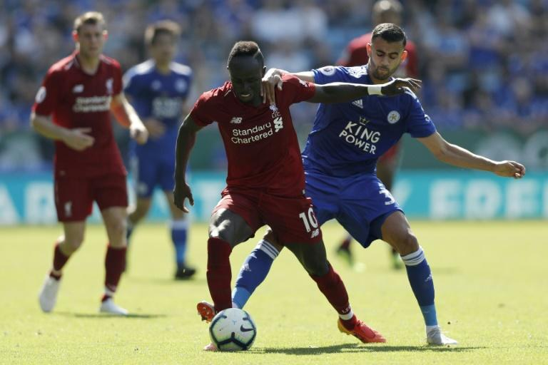 Sadio Mane is the joint-leading scorer in the Premier League with four goals in as many matches