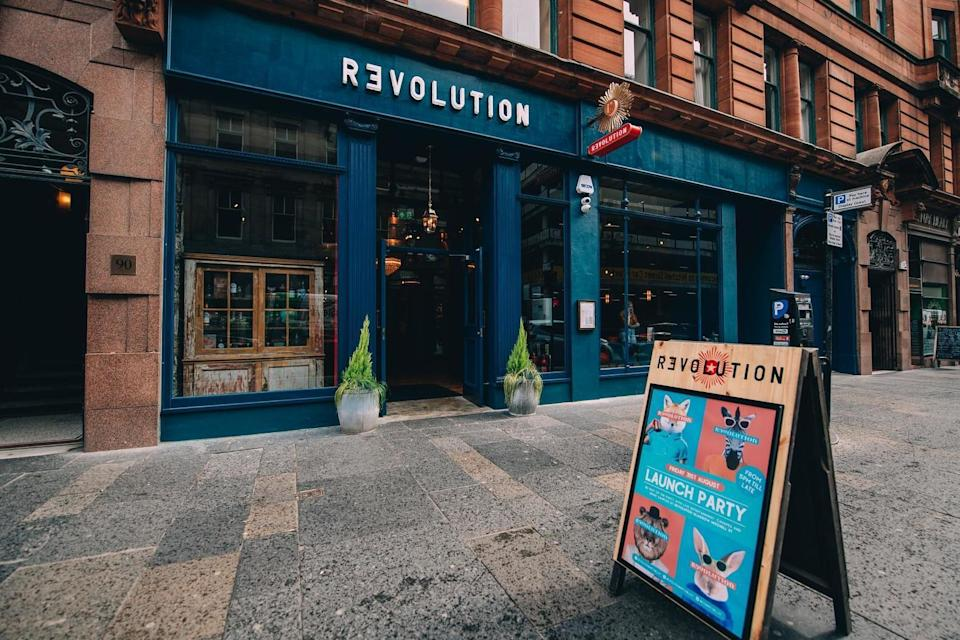 The Group is set to close several bars (Revolution Bars)