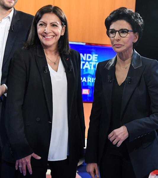 Socialist incumbent Anne Hidalgo leads centre right candidate Rachida Dati in the opinion polls as the candidates vy to run the world's most visited city but which suffers from pollution, petty crime and and overcrowding