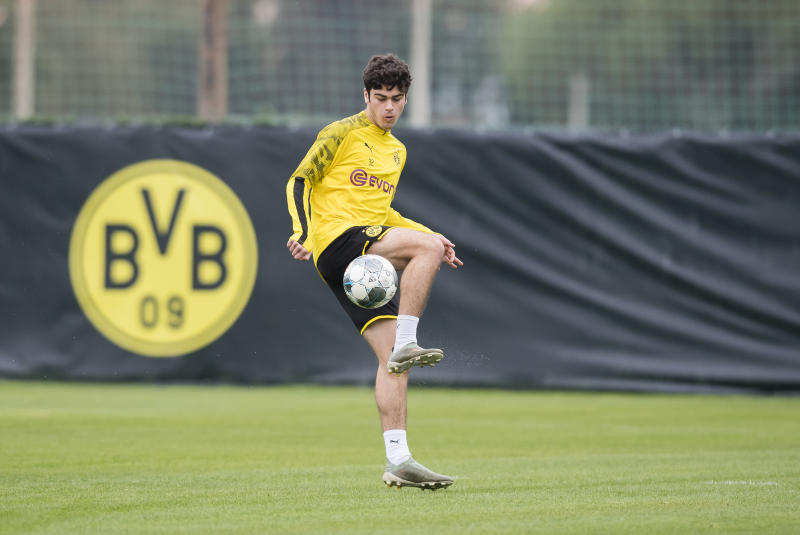 U.S. youth international Gio Reyna has already cracked Borussia Dortmund's senior team at just 17 years old. (Photo by Alexandre Simoes/Borussia Dortmund via Getty Images)