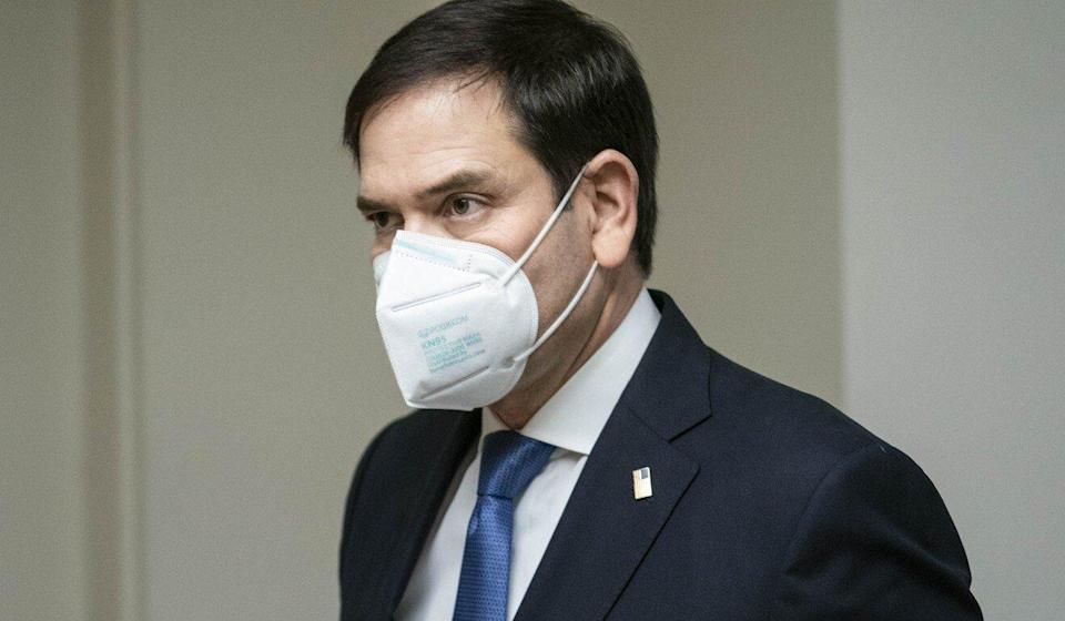 US Senator Marco Rubio, Republican of Florida, is one of nine US lawmakers to have nominated the Hong Kong pro-democracy movement for a Nobel Peace Prize. Photo: Bloomberg