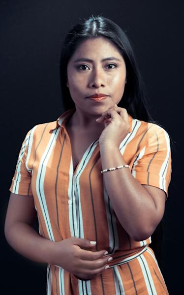 Mexican actress Yalitza Aparicio, Oscar nominee for the film 'Roma' in 2019, is spending this year working as a UNESCO goodwill ambassador
