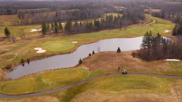 Avondale Golf Course in Vernon River opened April 8 this year. (Shane Hennessey/CBC - image credit)