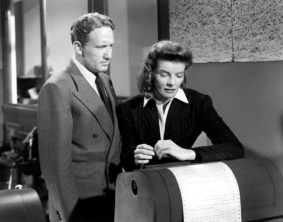 Spencer Tracy and Katharine Hepburn in 'Woman of the Year', one of the classics featured in TCM's new 'Reframed' series (Photo: Courtesy Everett Collection)