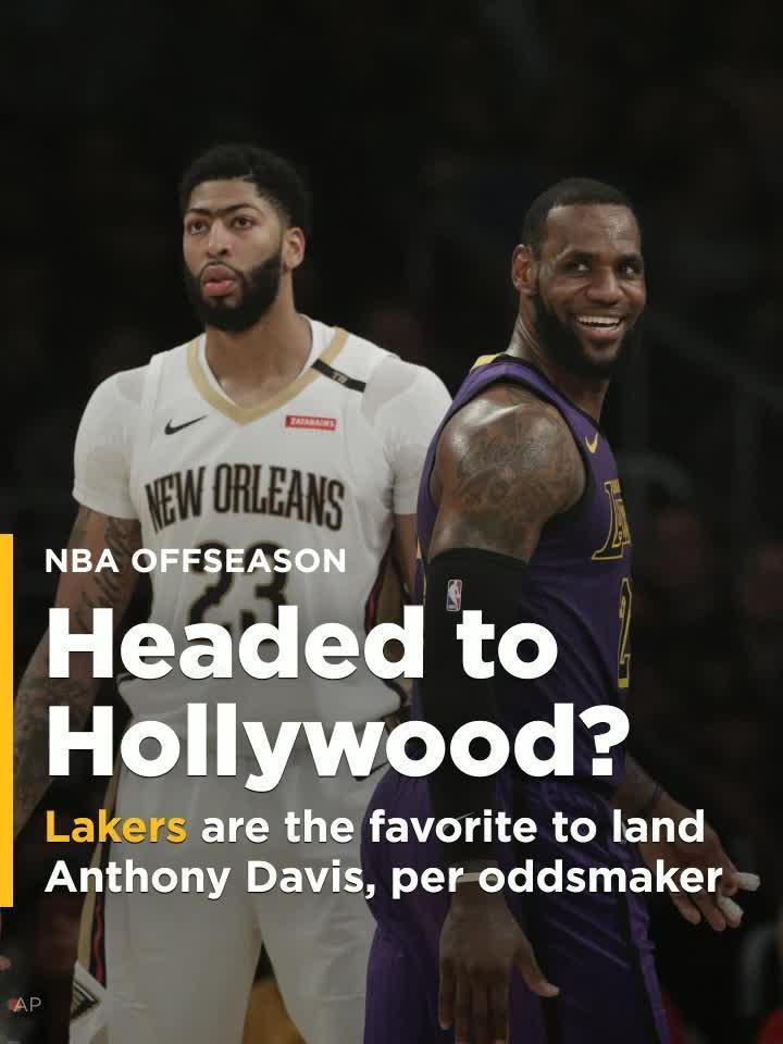b46eb1c44 Lakers are betting favorite to land Anthony Davis