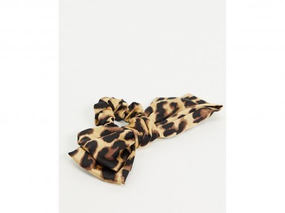 Bold and beautiful, this bow scrunchie is our new go-to look (Asos)