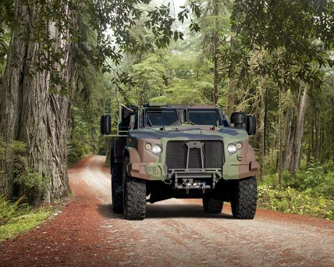 U.S. Army Places $484 Million Order for 1,574 Joint Light Tactical Vehicles