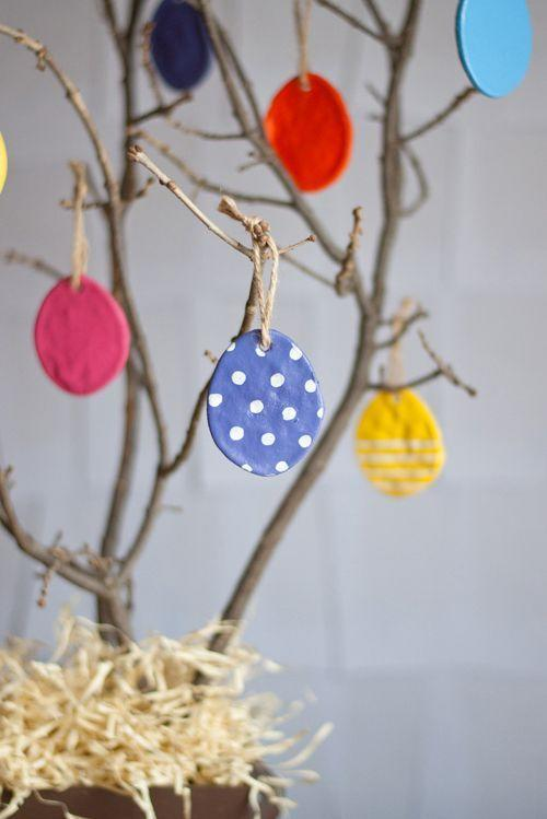 """<p>If you want to re-use your Easter tree next year without having to put too much extra elbow grease into it, here's a neat idea. Craft beautiful salt dough egg ornaments that can be stored and brought out again, year after year.</p><p><strong>Get the tutorial at <a href=""""https://www.designmom.com/diy-salt-dough-eggs/"""" rel=""""nofollow noopener"""" target=""""_blank"""" data-ylk=""""slk:Design Mom"""" class=""""link rapid-noclick-resp"""">Design Mom</a>.</strong></p><p><a class=""""link rapid-noclick-resp"""" href=""""https://www.amazon.com/Premium-Acrylic-Brights-DecoArt-DASK427/dp/B08DQNCH5X/ref=dp_prsubs_1?tag=syn-yahoo-20&ascsubtag=%5Bartid%7C10050.g.26498744%5Bsrc%7Cyahoo-us"""" rel=""""nofollow noopener"""" target=""""_blank"""" data-ylk=""""slk:SHOP CRAFT PAINT"""">SHOP CRAFT PAINT</a></p>"""