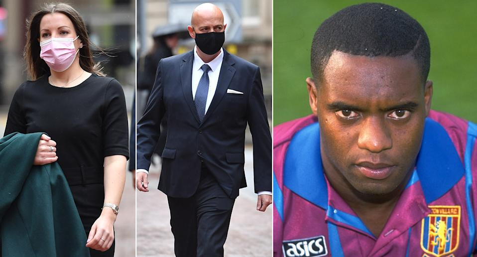 Mary Ellen Bettley-Smith is charged with assault and PC Benjamin Monk murder and manslaughter of ex-footballer Dalian Atkinson (PA)
