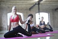 """<p>If exercise is on your mind after all that wining and dining, you should visit one of Markle's favourite fitness studios. Owned by her personal trainer and close friend, Heather Dorak, she's said that Pilates Platinum is """"hands down the best thing you could do for your body"""" in a testimonial for the small chain. [Photo: Pexels] </p>"""
