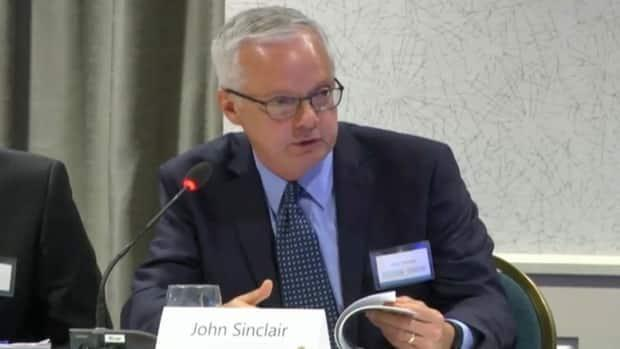 John Sinclair is president of Vestcor, which maintains the auditor general has limited access to the company's information.