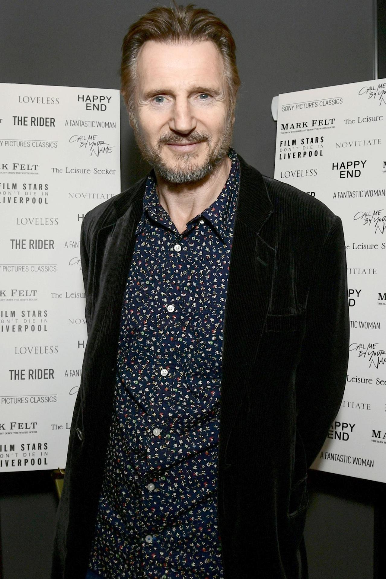 Liam Neeson Retiring from Action Movies: 'Guys I'm Sixty-F ...