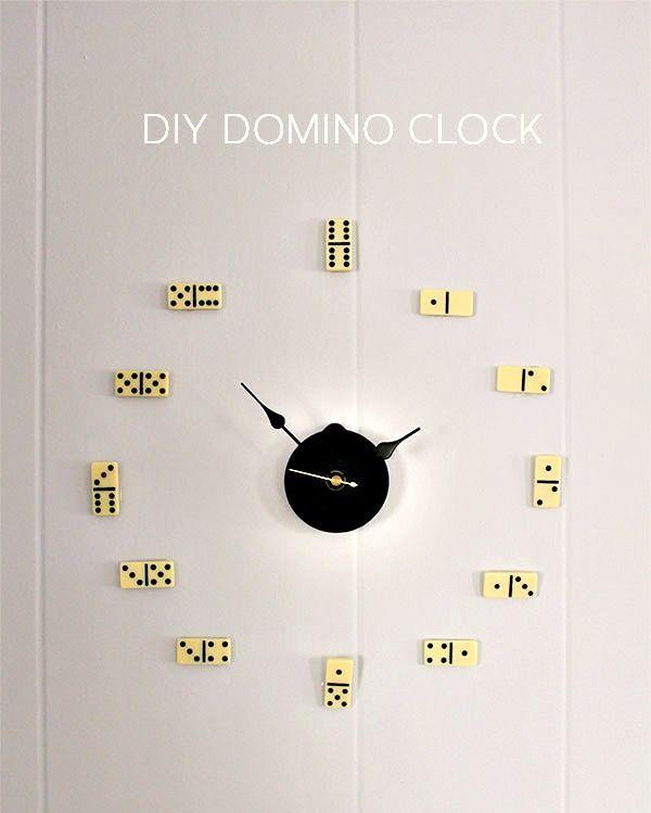 """<p>Get creative and surprise your dad with this DIY masterpiece. All you need is a domino set, hammer, nails, clock movements and hands, and some double-sided removable adhesives.</p><p><strong>Get the tutorial at <a href=""""http://thehomesteady.typepad.com/my-blog/2013/05/diy-domino-clock.html"""" rel=""""nofollow noopener"""" target=""""_blank"""" data-ylk=""""slk:The Homesteady"""" class=""""link rapid-noclick-resp"""">The Homesteady</a>.</strong> </p>"""
