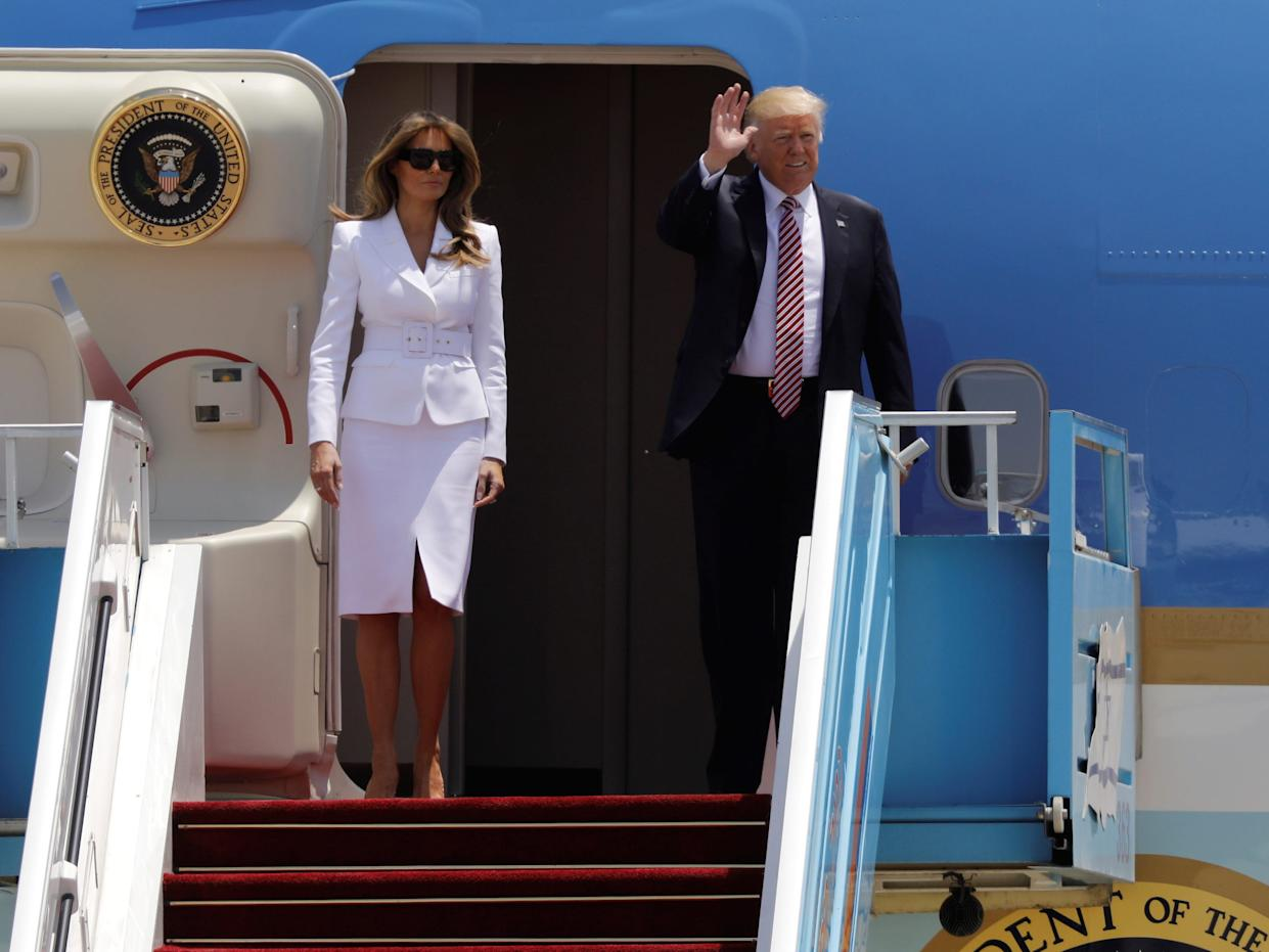 Trumps Love Life: First Lady Melania Trump Urged To Divorce The President And Flee