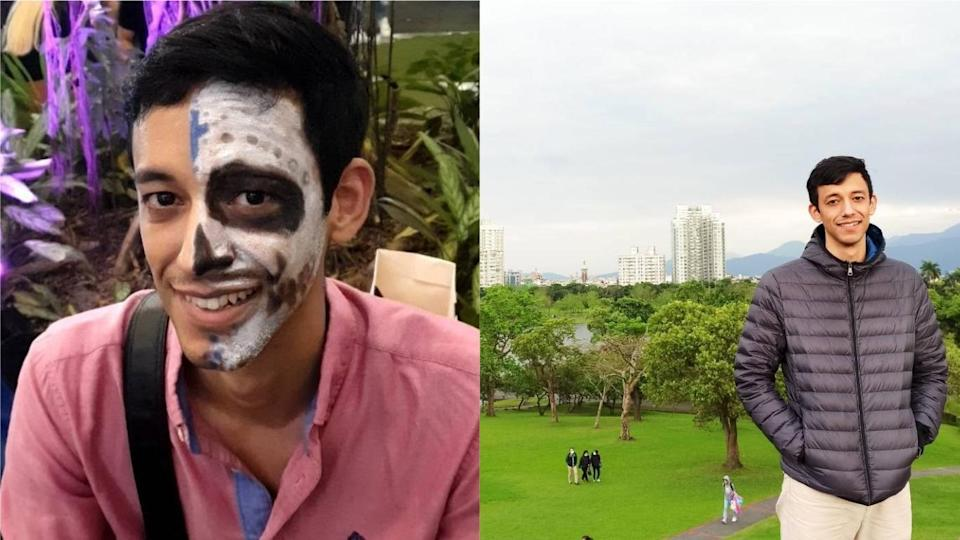 <p>Studying at National Chengchi University's IMBA program, Jeorge from Mexico has been in Taiwan for the past two years.(Courtesy of Jeorge)</p>