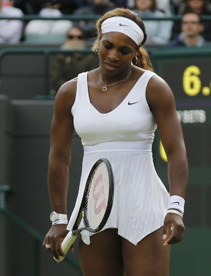 Latest Slam loss for Williams comes at Wimbledon