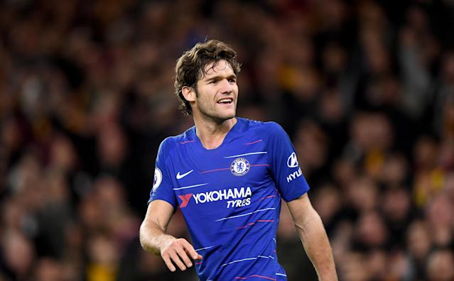 Chelsea fans have appeared to turn on fullback Marcos Alonso
