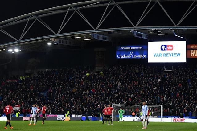 VAR …what is it good for? Manchester United goal controversially disallowed in FA Cup clash at Huddersfield