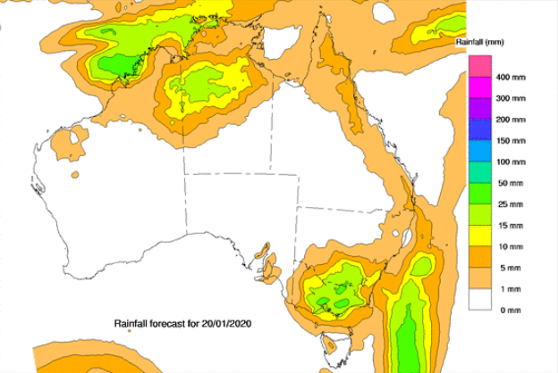 Large parts of Victoria will cop a soaking. Source: BoM