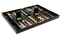<p>This <span>One Kings Lane Barona Backgammon Set</span> ($239) is gorgeous, and makes an amazing gift.</p>