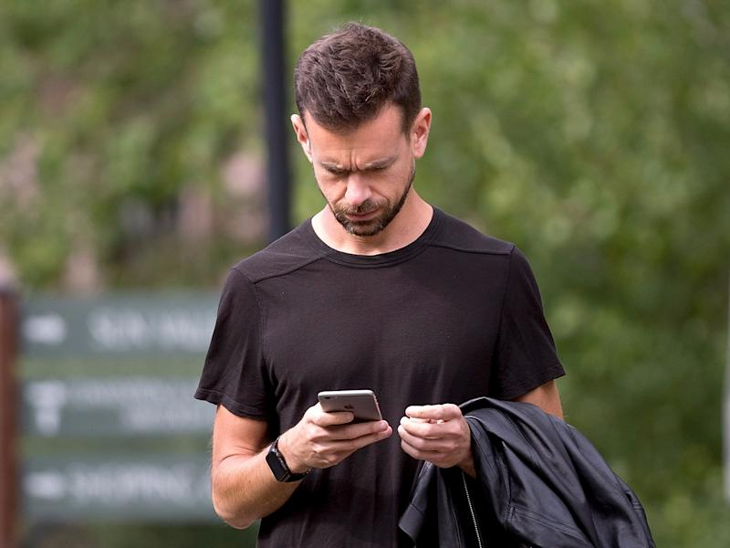 jack dorsey twitter ceo square smartphone phone