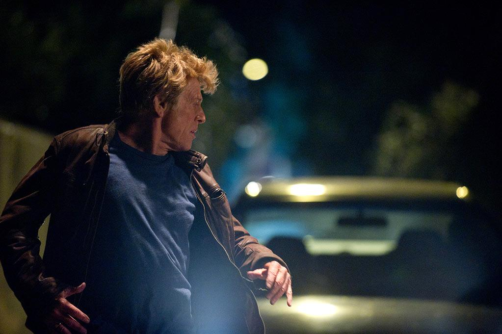 """The Company You Keep""  Jim Grant (Robert Redford), a civil rights lawyer and single father, must go on the run when a brash young reporter (Shia LaBeouf) exposes his true identity as a former 1970s radical fugitive wanted for murder. Sparking a nationwide manhunt, Grant sets off on a cross-country journey to clear his name. Also starring Susan Sarandon, Terrence Howard, Anna Kendrick, Stanley Tucci, Chris Cooper and Nick Nolte."