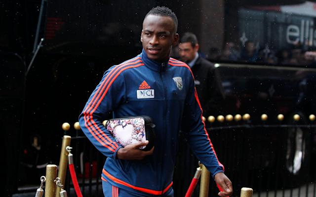 <span>Berahino lost his place in the West Brom side</span> <span>Credit: Reuters </span>