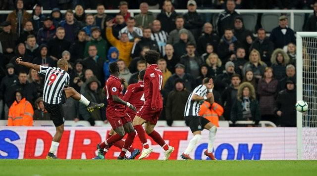 Liverpool's game at Newcastle at the end of last season was an intense affair