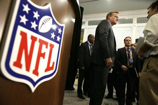 Roger Goodell said he does not want the Raiders or Chargers to move. (AP)