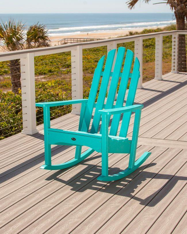 """<p><strong>trex outdoor furniture</strong></p><p>trexfurniture.com</p><p><strong>$409.00</strong></p><p><a href=""""https://www.trexfurniture.com/cape-cod-adirondack-rocking-chair.html"""" rel=""""nofollow noopener"""" target=""""_blank"""" data-ylk=""""slk:Shop Now"""" class=""""link rapid-noclick-resp"""">Shop Now</a></p><p>Adirondack styles are perfect for houses on the coast. Choose from 11 colors, from bright and beachy to subdued and neutral. Sunset Red will add the perfect pop of color to any porch or dock!</p>"""