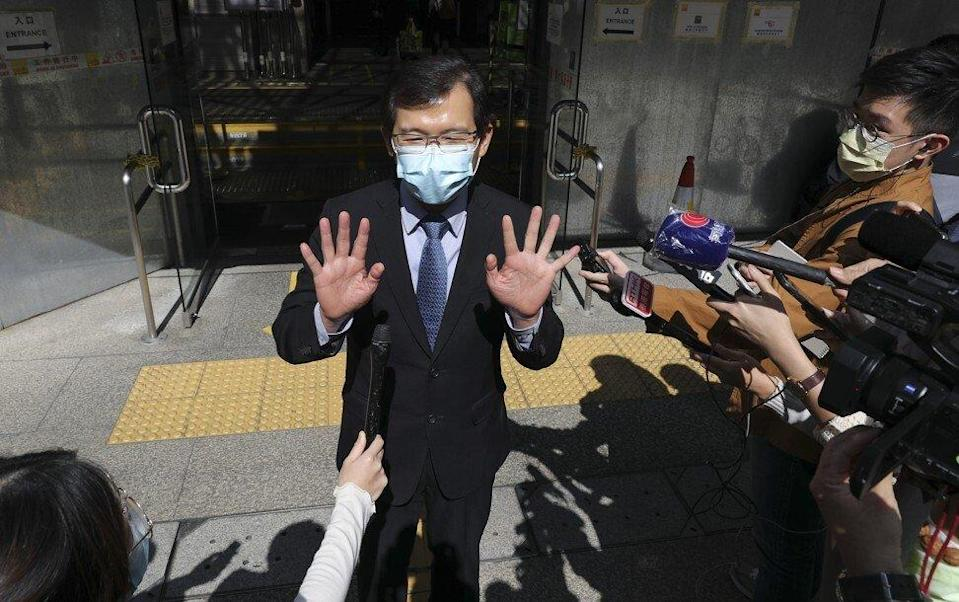 Former Convoy director Roy Cho Kwai-chee was acquitted of conspiracy to defraud in November, but the ICAC is appealing the decision. Photo: Nora Tam