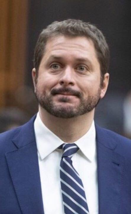"Conservative Leader Andrew Scheer with the ""beard"" filter on FaceApp. (Photo: CP/FaceApp)"