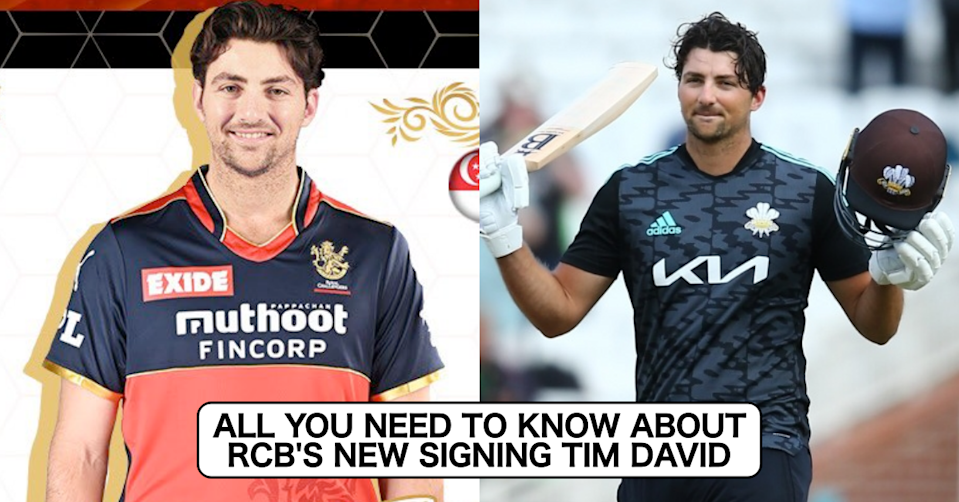 All You Need To Know About Royal Challengers Bangalore's (RCB) Latest Signing Tim David