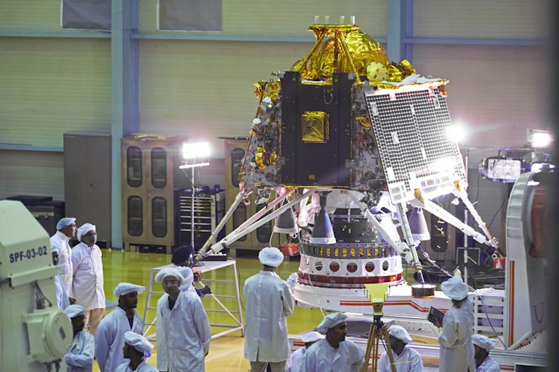India Moon Rocket Blasts Off in Mission to Reach South Pole